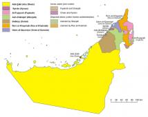 سفربه دبی - نقشه دبی